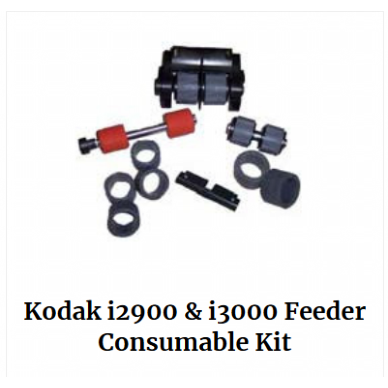 Kodak i2900 and i3000 Series Feeder Consumable Kit