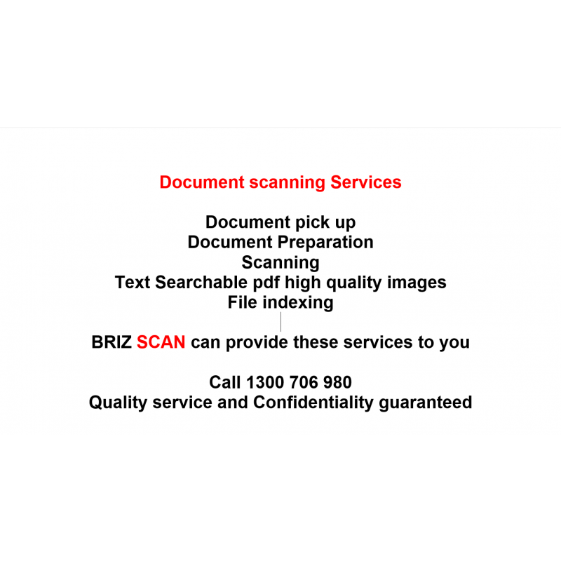 Scanning as a service